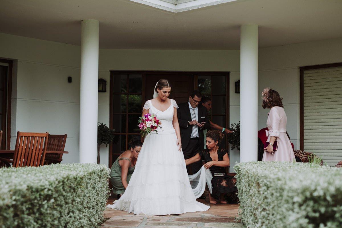 boda en palacio de guevara treceño - Isa y Nacho