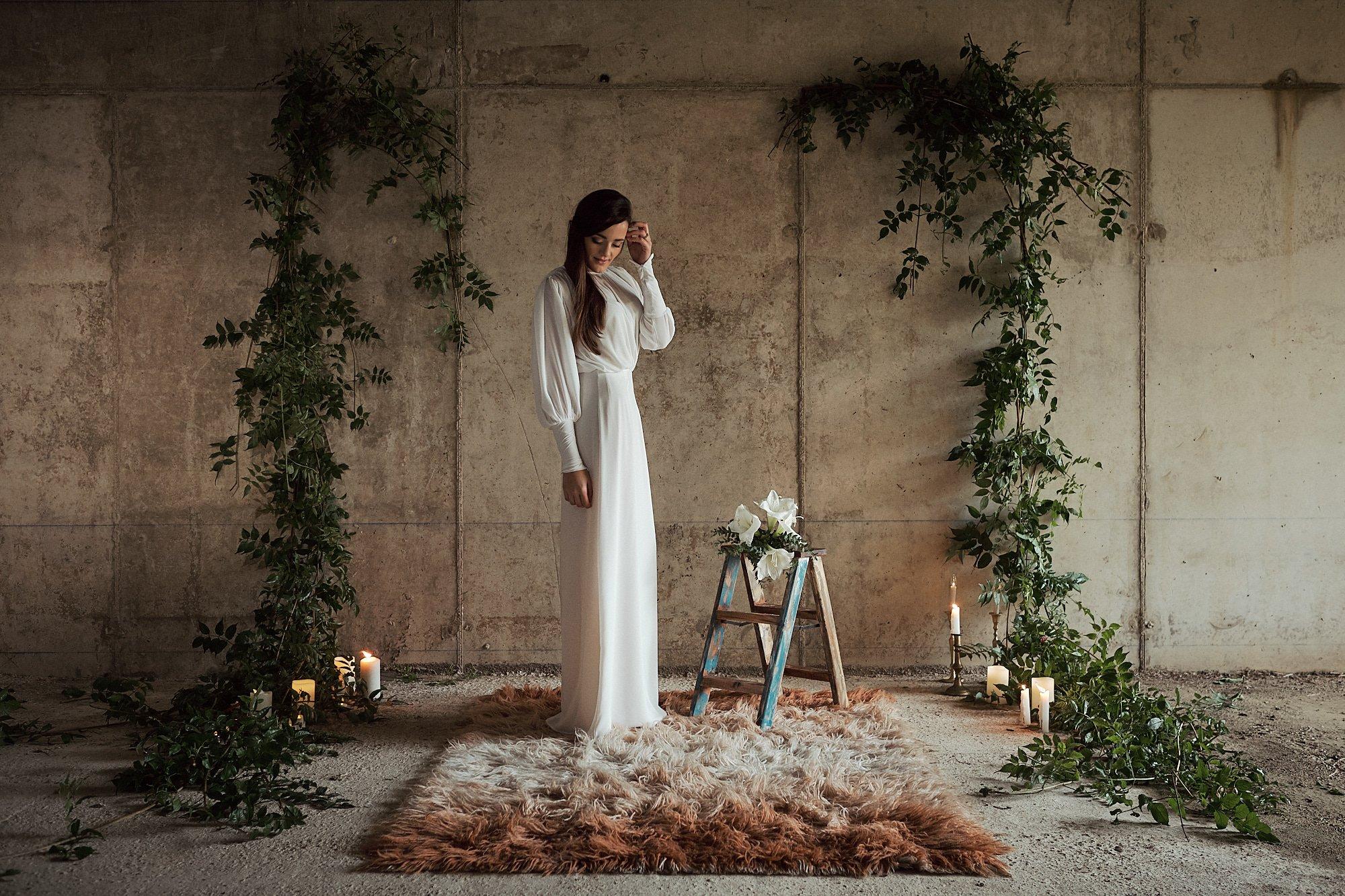 novia en el altar