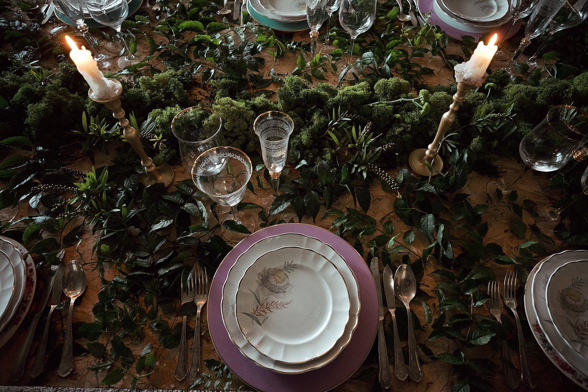 mesa de banquete de boda