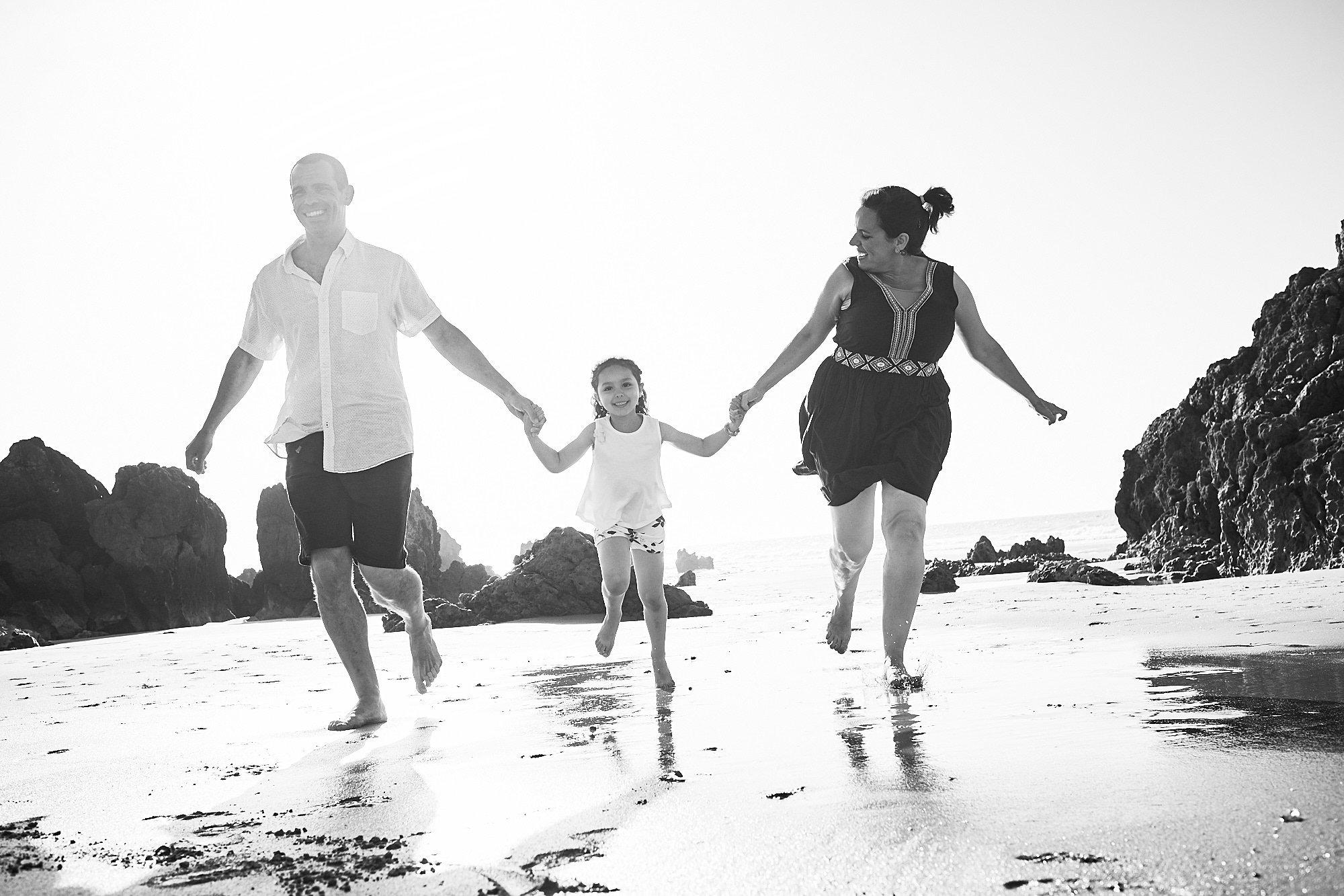 Preboda con niños en las playas de Cantabria