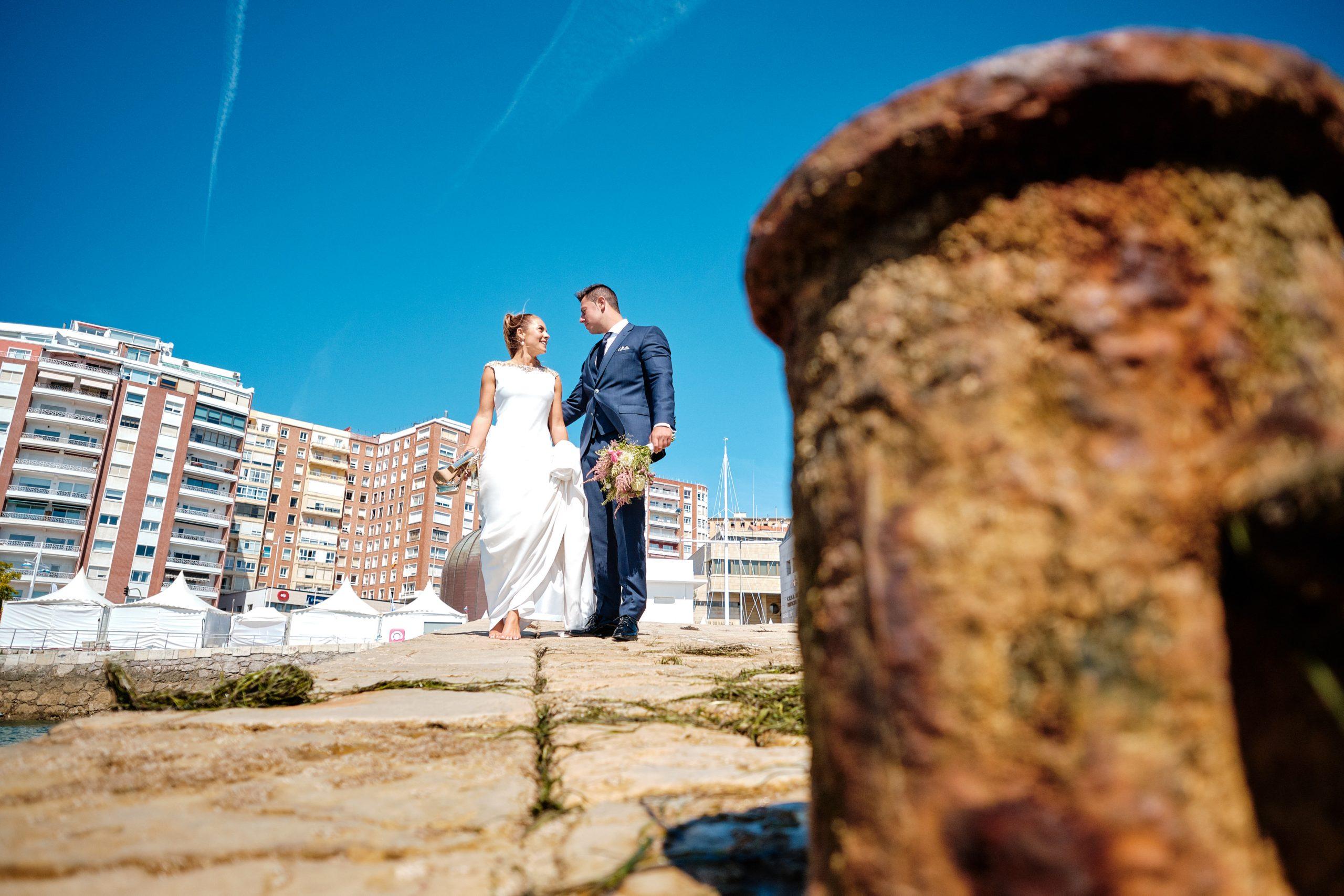 fotos de boda en puerto chico Santander by Fabrizio Maulella