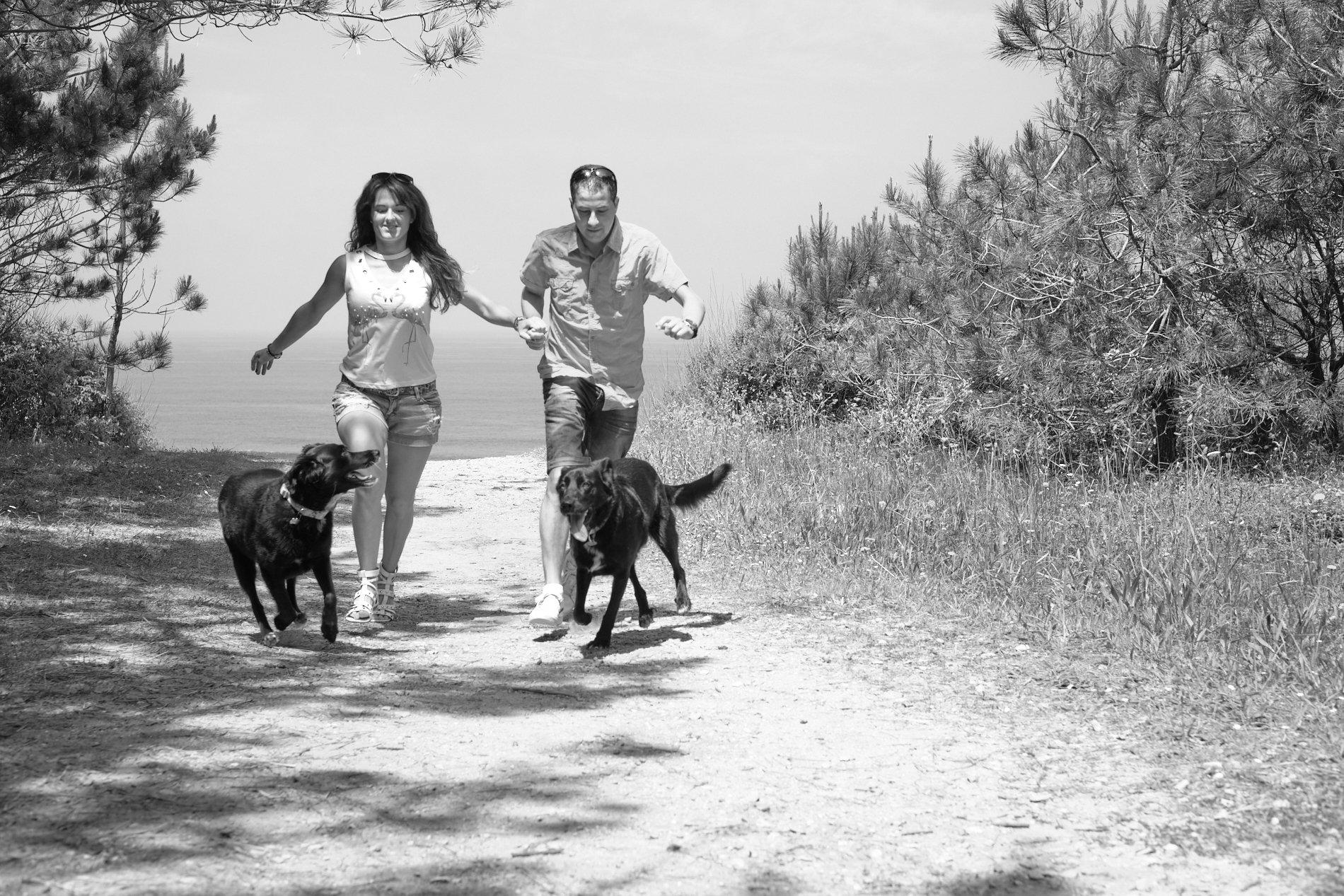 eportaje de familia con perros fotografo de perros